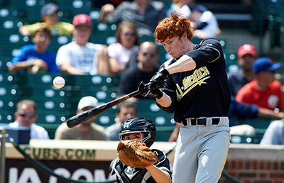 Clint Frazier during the Home Run Derby